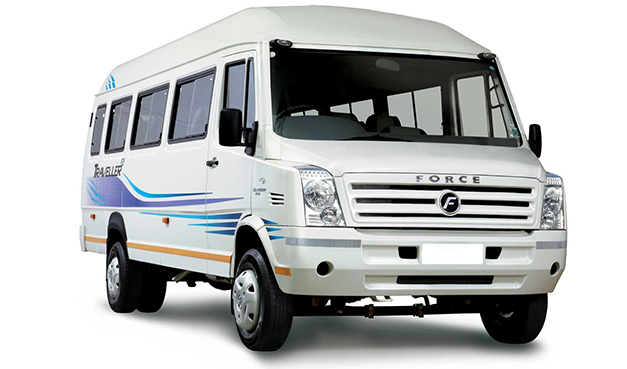 traveller for rent cochin
